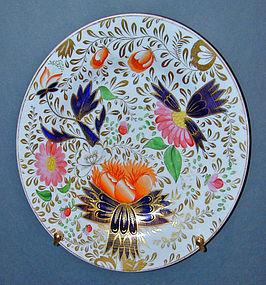 Chamberlain's Worcester porcelain dinner plate, Ca 1820