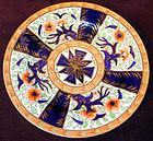 Coalport porcelain dinner plate, pattern #835, Ca 1815