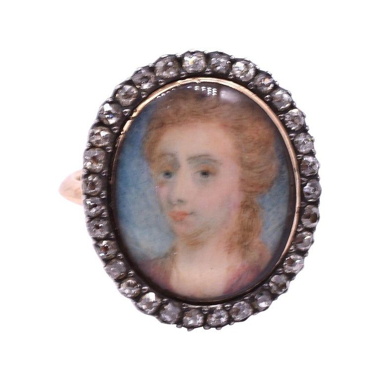 Portrait Ring of Sarah Churchill Duchess of Marlborough