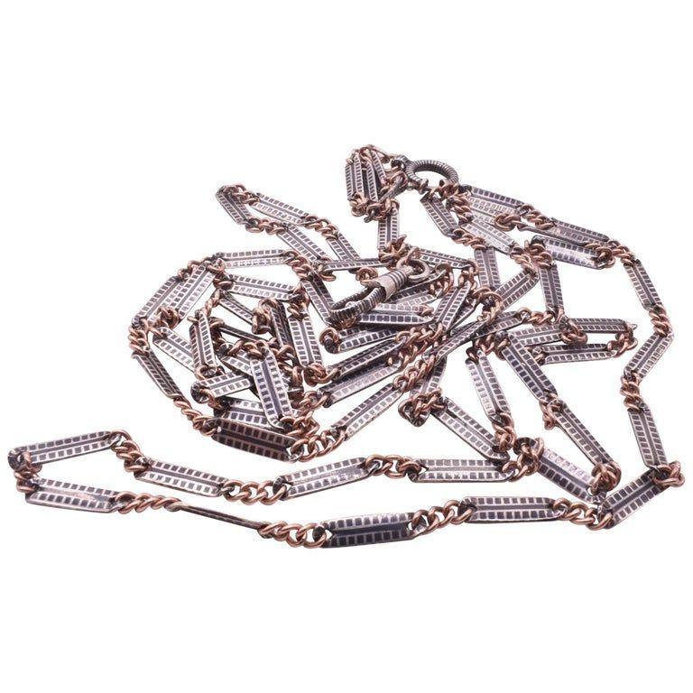 "C1900 Niello chain 60"""