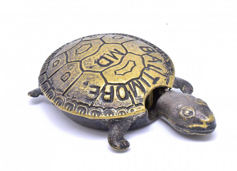 C.1900 Metal Turtle Tape Measure