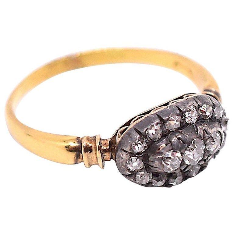 Diamond Cluster Ring, circa 1880