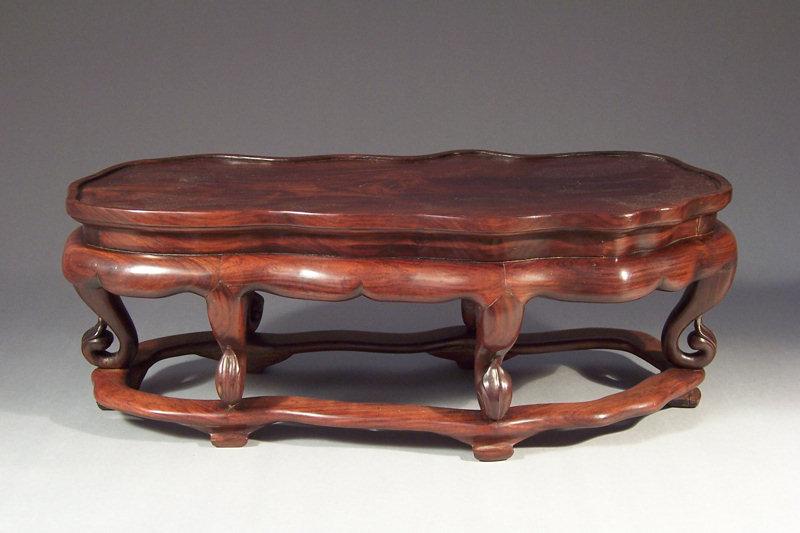 Good, Large 19th Century Chinese Hardwood Display Stand