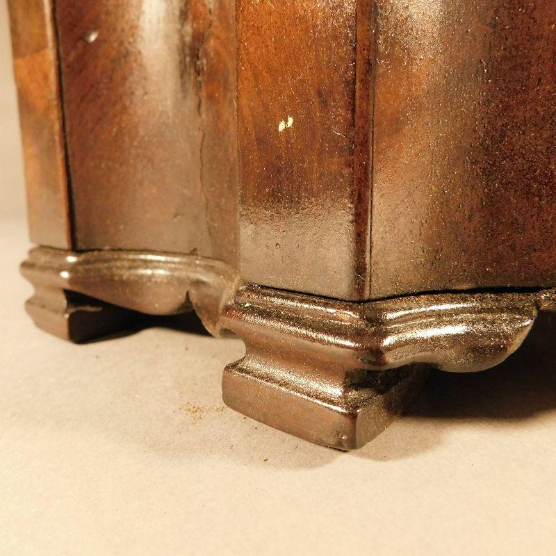 18th Century, George III Mahogany Knife Box