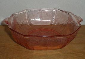 """Pink Princess 9"""" Octagonal Salad Bowl"""