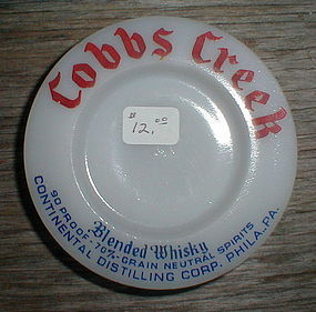 "Cobbs Creek Whiskey 3"" Ash Tray"