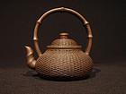 Yixing Teapot Basket with Bamboo Zhou Hanqiang