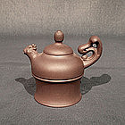 Dainty Yixing Teapot of Phoenix Form