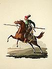 CAVALRY Military Costume Turkey 1818 London