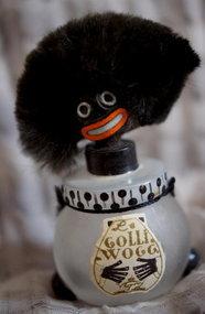Ca 1919 Satin Glass Vigny France Black Golliwogg Perfume