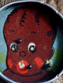 1920s Black Memorabilia Black Baby Dexterity Puzzle