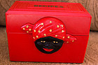 Black Memorabilia RED Aunt Jemima Fosta Recipe Box