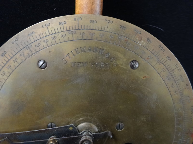 19C Tiemann Medical Strength Measuring Instrument Tool