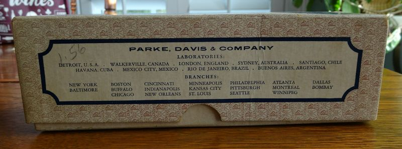 Parke Davis Lung Remedy Cure Glaseptic Nebulizer Pharmacy Drugstore