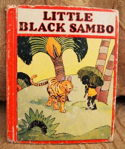 1927 Black Americana Little Black Sambo Children's Story Book