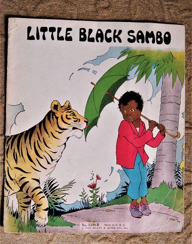1932 Little Black Sambo Book The Platt + Munk Co No. 3100B