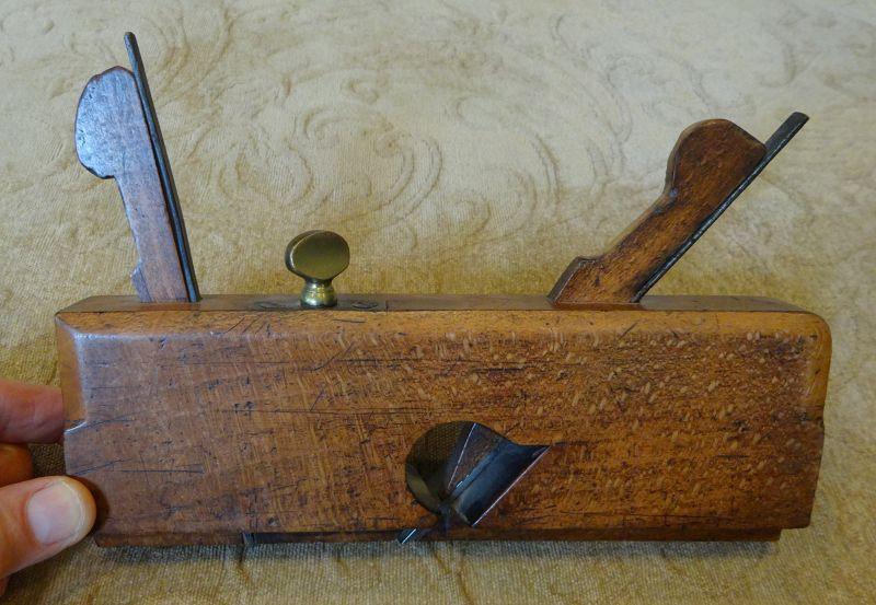C1870 Antique Woodworkers Adjustable Wood Dado Plane