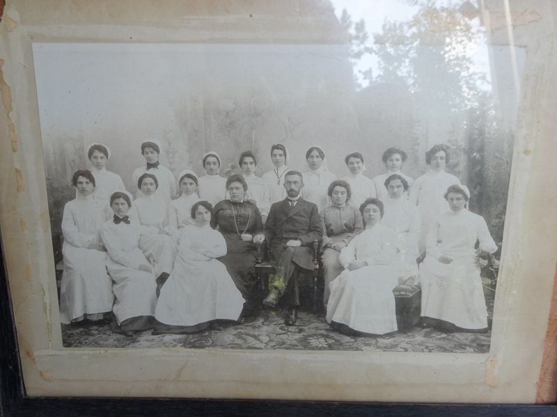 RARE 1880s Hospital Nurse School Graduation Photograph