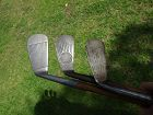 3 Hickory Golf Clubs  Forged Mid Iron Sarazen Kroydon Hollywood 1920
