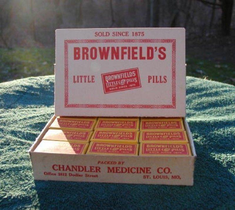 Brownfields Little Pills Pharmacy Drug Store Display #2