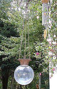 RareRound 19thC Victorian Hanging Apothecary Show Globe