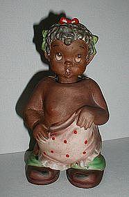 1950s Black Americana Girl Child Nodder Ardalt Japan