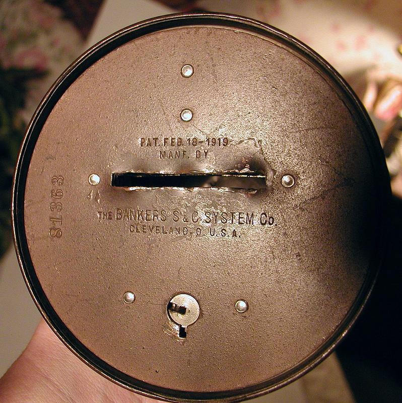 1919 Liberty Bell Bank Hartford Connecticut Mechanics Savings Bank