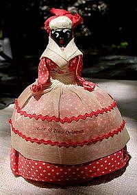 1940 Mammy Sewing Pin Cushion Doll New Orleans Souvenir