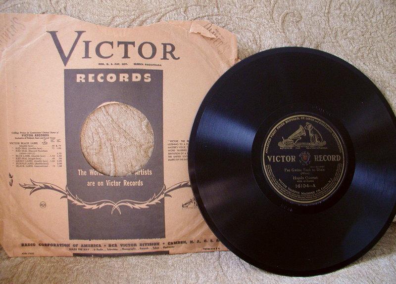 3 JIM CROW Black Memorabilia 78RPM Records w/ Jackets