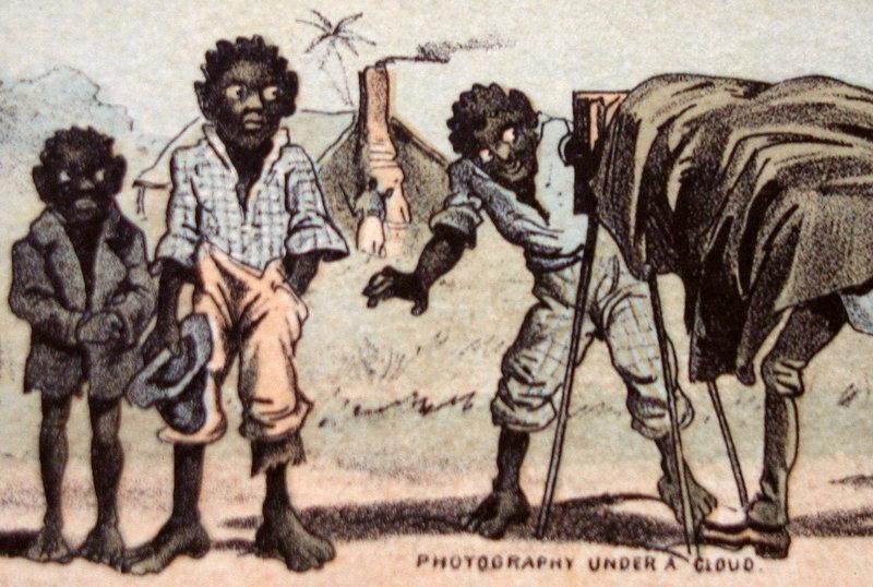 ExRARE 1890s Black Memorabilia Trade Card