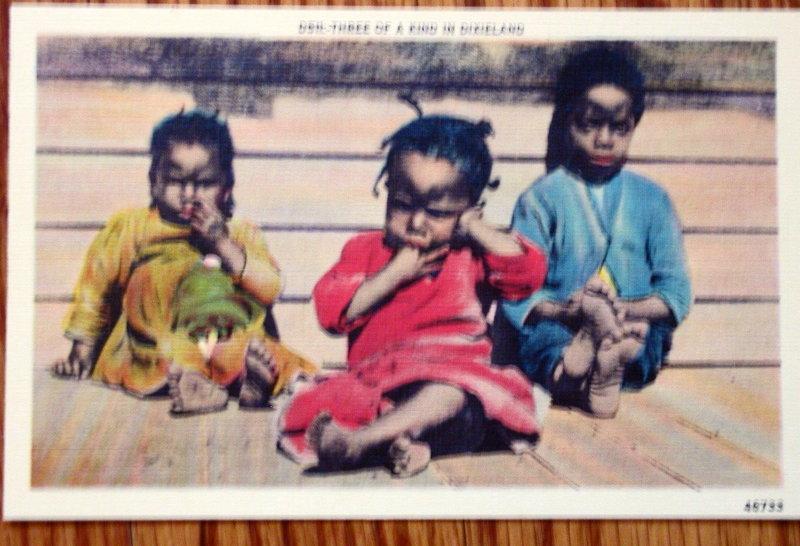 Group 11 Black Memorabilia Postcards 1930-1950s Vintage