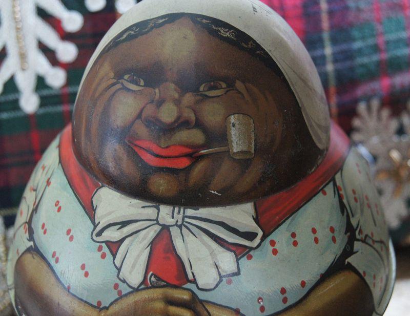 FAB 1912 Mayo Cut Plug Tobacco Roly Poly Mammy Tin