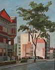Washington, DC Streetscene by James Francis O�Brien