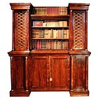 English Regency Collector's Cabinet by George Bullock, c. 1815