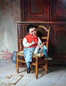 J. Lizzie Cloud (British, flourished 1873-1880)
