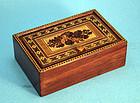 Small Tumbridge Ware Trinket Box