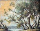 Potomac River Landscape by Benson Bond Moore (Am.,  1882-1974)