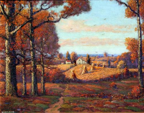 Maryland Landscape by Benson Bond Moore (American 1882-1974)