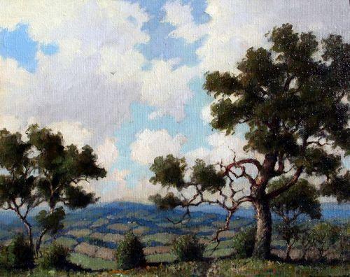 "Skyline Drive, VA"" by Benson Bond Moore (American 1882-1974)"