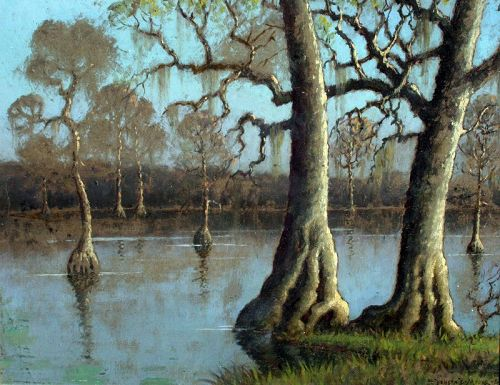 Cape Fear River, North Carolina by Benson Bond Moore