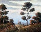 North Carolina Landscape by  Benson B.Moore (American 1882-1974)