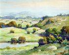 Pennsylvania Landscape by Benson Bond Moore (American 1882-1974)