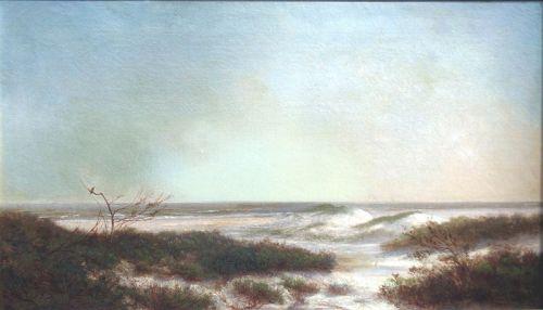 Coastal Landscape Painting by  Newbold Hugh Trotter (American)