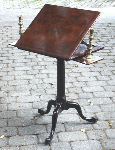 18th Century English Reading Table