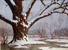 Old Willow in Winter, Anacostia by Benson Bond Moore (Am, b 1882)