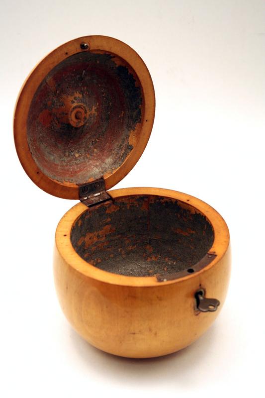 Rare 18th-century Apple Shaped Tea Caddy