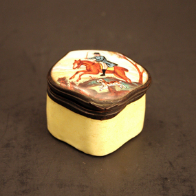 19th-century French Enamel Box