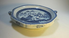A Early 19th C. Chinese Blue & White Porcelain Bowl