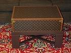 Japanese Vintage Textile Boro Small Rug with Narumi-kongata