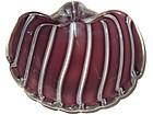Murano ARCHIMEDE SEGUSO A Fasce Conch Shell Bowl